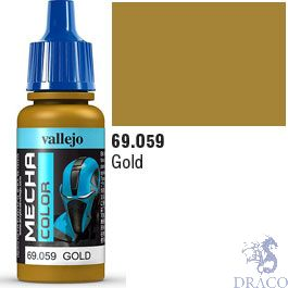Vallejo Mecha Color 059: Gold 17 ml.