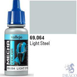 Vallejo Mecha Color 064: Light Steel 17 ml.