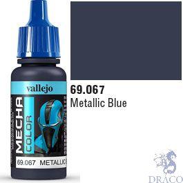 Vallejo Mecha Color 067: Metallic Blue 17 ml.
