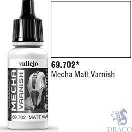 Vallejo Mecha Varnish 702: Matt Varnish 17 ml.