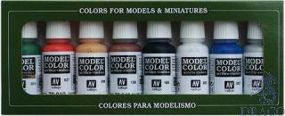 Vallejo Model Color Set 103: Wargames Basics (8 colors)