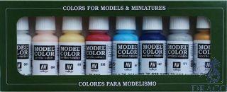 Vallejo Model Color Set 104: High Elves (8 colors)