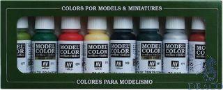 Vallejo Model Color Set 105: Orcs & Goblins (8 colors)