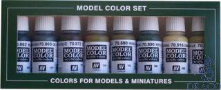 Vallejo Model Color Set 108: Panzer Colors (8 colors)