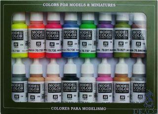 Vallejo Model Color Set 112: Wargame Special (16 colors)