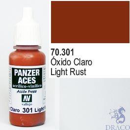 Vallejo Panzer Aces 301: Light Rust 17 ml.