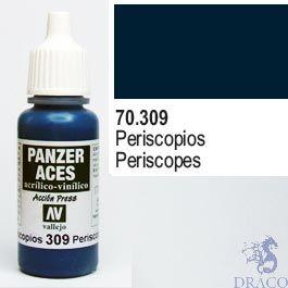 Vallejo Panzer Aces 309: Periscopes 17 ml.