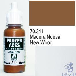 Vallejo Panzer Aces 311: New Wood 17 ml.