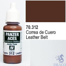 Vallejo Panzer Aces 312: Leather Belt 17 ml.