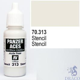 Vallejo Panzer Aces 313: Stencil 17 ml.