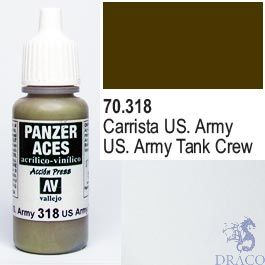 Vallejo Panzer Aces 318: US. Army Tanker 17 ml.