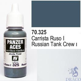 Vallejo Panzer Aces 325: Russian Tanker I 17 ml.