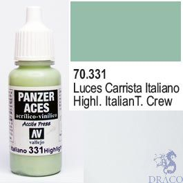 Vallejo Panzer Aces 331: Italian Tanker Highlights 17 ml.