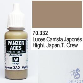 Vallejo Panzer Aces 332: Japan. Tanker Highlights 17 ml.