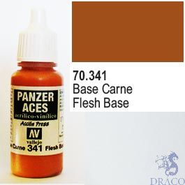 Vallejo Panzer Aces 341: Flesh Base 17 ml.