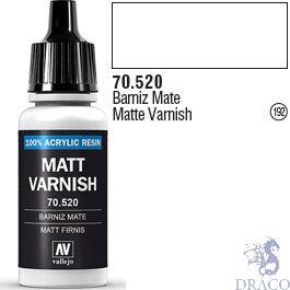 Vallejo 192: Modelcolor 520: Matte Varnish 17 ml.