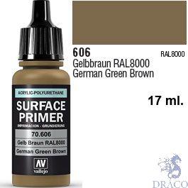Vallejo Acrylic Polyurethane Primer - German Green Brown 17 ml.