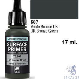 Vallejo Acrylic Polyurethane Primer - U.K. Bronze Green 17 ml.