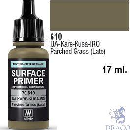 Vallejo Acrylic Polyurethane Primer - IJA Kare-Kusa-IRO - Parched Grass (late) 17 ml.