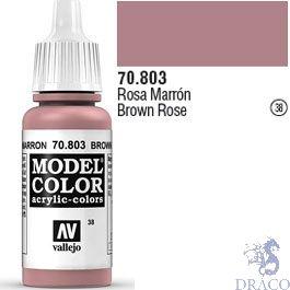 Vallejo 038: Modelcolor 803: Brown Rose 17 ml.