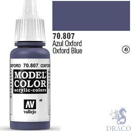Vallejo 049: Modelcolor 807: Oxford Blue 17 ml.