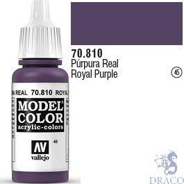 Vallejo 045: Modelcolor 810: Royal Purple 17 ml.