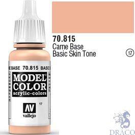 Vallejo 017: Modelcolor 815: Basic Skin Tone 17 ml.