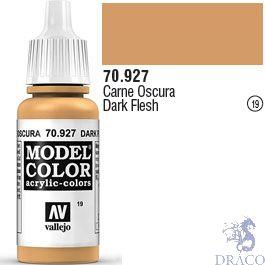 Vallejo 019: Modelcolor 927: Dark Flesh 17 ml.