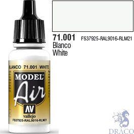 Vallejo Model Air 001: White 17 ml.
