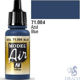 Vallejo Model Air 004: Blue 17 ml.