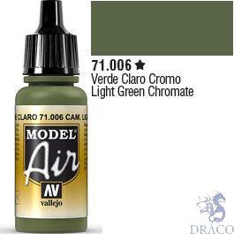 Vallejo Model Air 006: Light Green Chromate 17 ml.