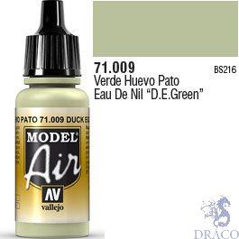 Vallejo Model Air 009: Duck Egg Green 17 ml.