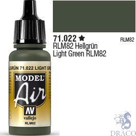 Vallejo Model Air 022: Light Green RLM82 17 ml.