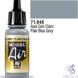 Vallejo Model Air 046: Pale Grey Blue 17 ml.