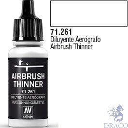Vallejo Model Air 261: Thinner 17 ml.