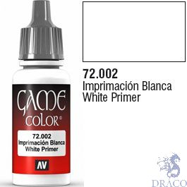 Vallejo Game Color 002: White Primer 17 ml.