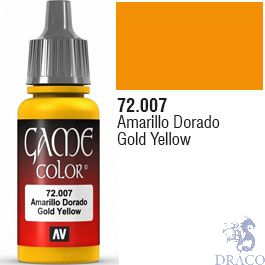 Vallejo Game Color 007: Gold Yellow 17 ml.