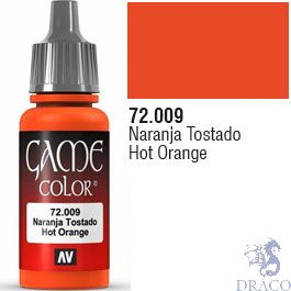 Vallejo Game Color 009: Hot Orange 17 ml.
