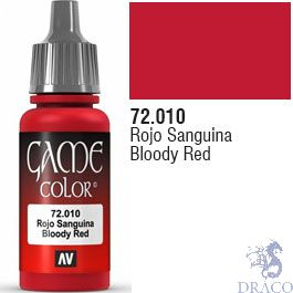Vallejo Game Color 010: Bloody Red 17 ml.