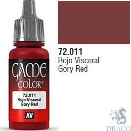 Vallejo Game Color 011: Gory Red 17 ml.
