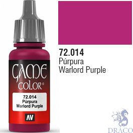 Vallejo Game Color 014: Warlord Purple 17 ml.
