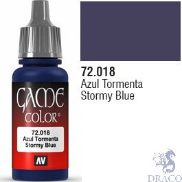 Vallejo Game Color 018: Stormy Blue 17 ml.