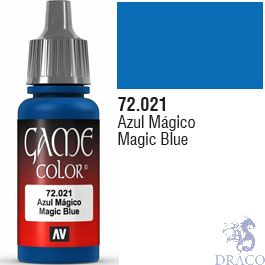 Vallejo Game Color 021: Magic Blue 17 ml.