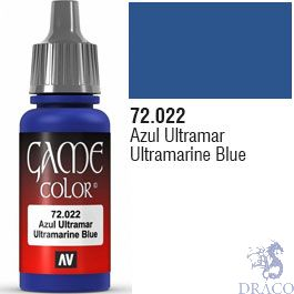 Vallejo Game Color 022: Ultramarine Blue 17 ml.
