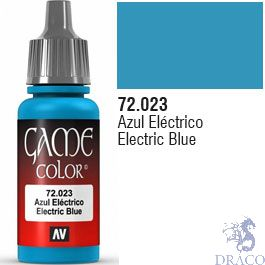Vallejo Game Color 023: Electric Blue 17 ml.