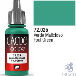 Vallejo Game Color 025: Foul Green 17 ml.