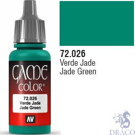 Vallejo Game Color 026: Jade Green 17 ml.
