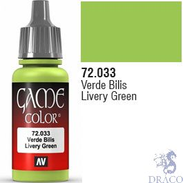 Vallejo Game Color 033: Livery Green 17 ml.