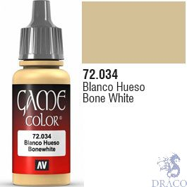Vallejo Game Color 034: Bone White 17 ml.