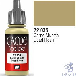 Vallejo Game Color 035: Dead Flesh 17 ml.